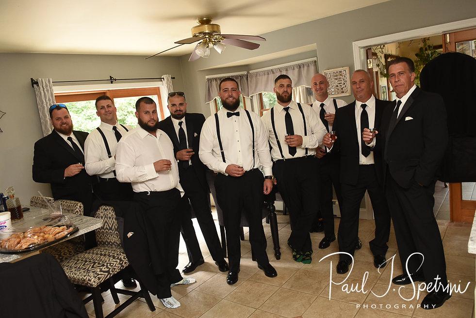 Rhode Island Wedding Photography, Groom Prep Photos