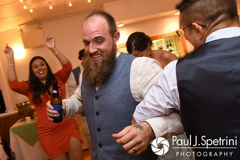 Gary dances during his September 2017 wedding reception at North Beach Club House in Narragansett, Rhode Island.