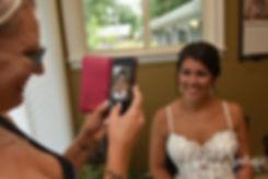 Rhode Island bridal prep photos