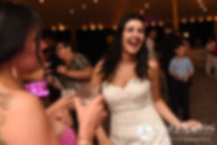 Lauryn dances during her July 2016 wedding reception at the Overlook at Geer Tree Farm in Griswold, Connecticut.