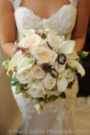 A look at Emma's flowers prior to her November 2015 wedding at the Publick House in Sturbridge, Massachusetts.