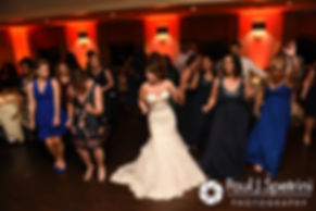 Kristina dances during her October 2017 wedding reception at the Villa Ridder Country Club in East Bridgewater, Massachusetts.