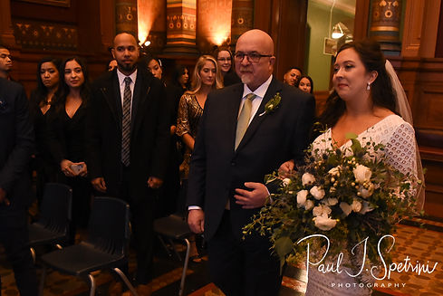 Providence City Hall Wedding Photography, Wedding Ceremony Photos