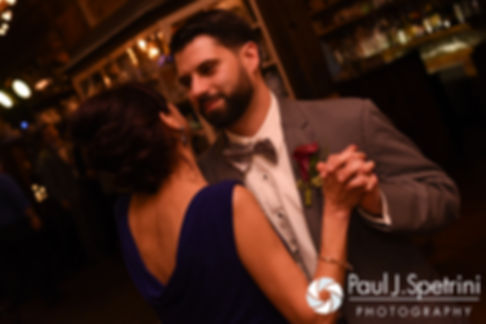 Andy dances with his mom during his November 2016 wedding reception at the Salem Cross Inn in West Brookfield, Massachusetts.