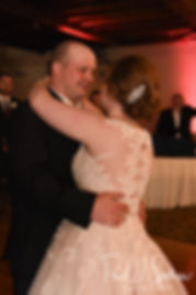 Zach & Kelly dance during their June 2018 wedding reception at Blissful Meadows Golf Club in Uxbridge, Massachusetts.