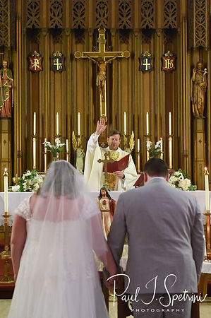 Saints John and James Parish Wedding Photography, Wedding Ceremony Photos