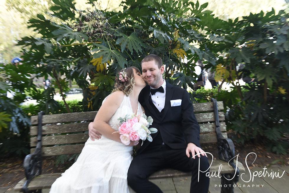 Charleston Yacht Club Wedding Photograph