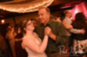 Kelly dances with a guest during her June 2018 wedding reception at Blissful Meadows Golf Club in Uxbridge, Massachusetts.