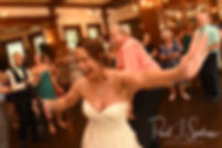 Danielle dances during her August 2018 wedding reception at the Roger Williams Park Casino in Providence, Rhode Island.