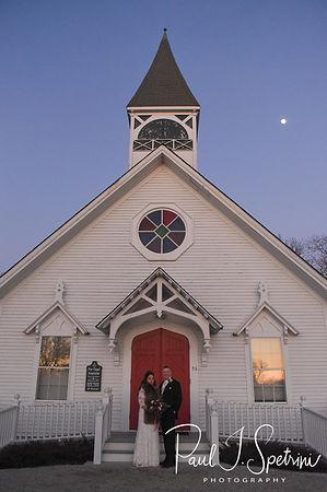 Acoaxet Chapel wedding photos