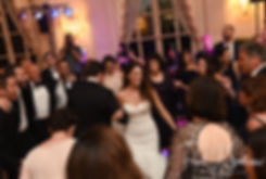 Mike and Helen dance during their September 2018 wedding reception at the Rosecliff Mansion in Newport, Rhode Island.