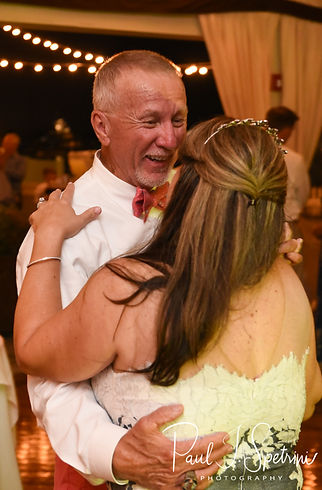 Mike dances with Kate during his May 2018 wedding reception at Regatta Place in Newport, Rhode Island.