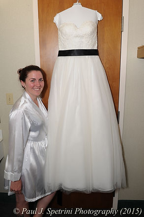 A look at the dress Jamie Bolani wore on her wedding day.