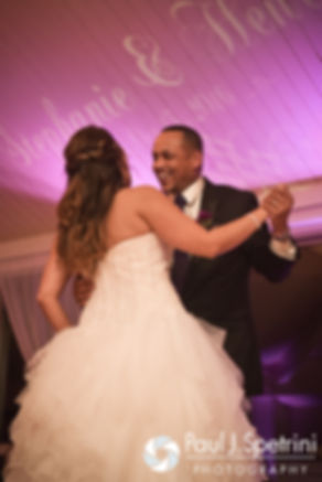 Stephanie and her father dance during her October 2016 wedding reception at Lake Pearl Luciano's in Wrentham, Massachusetts.