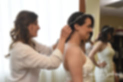Rhodes on the Pawtuxet bridal prep photo
