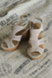A look at the shoes Jamie Bolani wore on her wedding day.