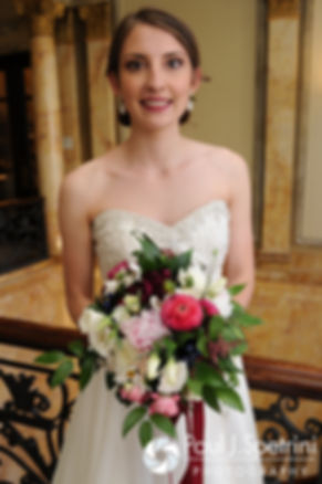 Simonne poses for a photo during her June 2016 wedding in Providence, Rhode Island.