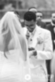 Luis speaks to Lucelene during his June 2017 wedding ceremony at Waterplace Park in Providence, Rhode Island.