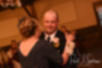 Zach and his mother dance during his June 2018 wedding reception at Blissful Meadows Golf Club in Uxbridge, Massachusetts.