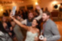 Gary poses for a selfie during his September 2017 wedding reception at North Beach Club House in Narragansett, Rhode Island.