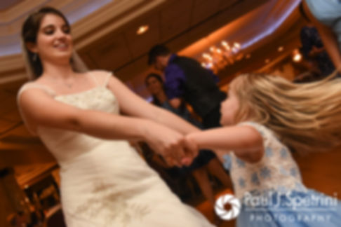 Gianna dances during her July 2017 wedding reception at Quidnessett Country Club in North Kingstown, Rhode Island.