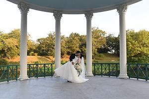 A teaser image for Allison and Len's wedding blog.