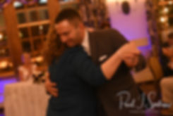 Kurt and his mother dance during his November 2018 wedding reception at the Publick House Historic Inn in Sturbridge, Massachusetts.