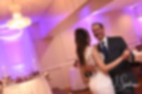 Beth and her father dance during her August 2018 wedding reception at McGovern's on the Water in Fall River, Massachusetts.