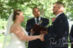 Quonset 'O' Club wedding ceremony photos