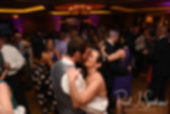 Sam & Katie dance during their April 2018 wedding reception at Quidnessett Country Club in North Kingstown, Rhode Island.
