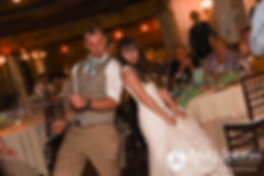 Krystal and Ian dance during their May 2016 wedding reception at DeWolf Tavern in Bristol, Rhode Island.