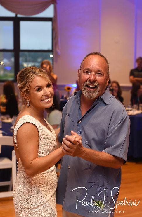 The Rotunda at Easton's Beach Newport Wedding Photography, Wedding Reception Photos