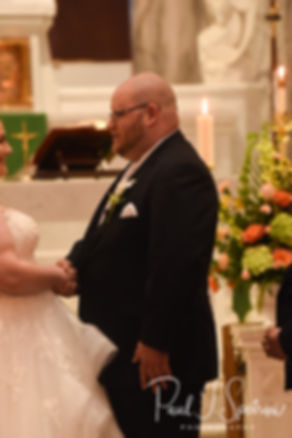 St. Mary's Parish Bristol Rhode Island Wedding Photography, Wedding Ceremony Photos
