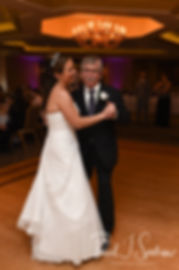 Katie dances with her father during her April 2018 wedding reception at Quidnessett Country Club in North Kingstown, Rhode Island.