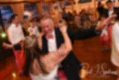 Mike and Kate dance during their May 2018 wedding reception at Regatta Place in Newport, Rhode Island.