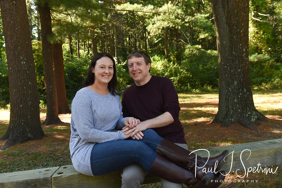 Goddard Park engagement photos