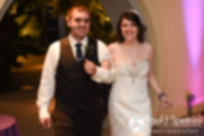 Jen and Kyle are introduced during their September 2016 wedding reception at the Roger Williams Park Botanical Center in Providence, Rhode Island.