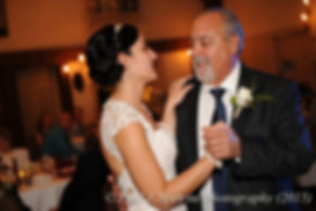 Emma and her dad dance her November 2015 wedding at the Publick House in Sturbridge, Massachusetts.