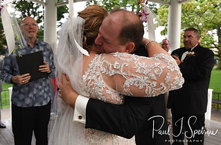 A teaser image for Patti & Bob's wedding blog.