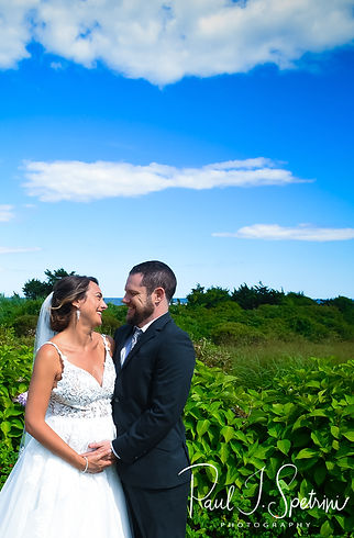 Ocean House Westerly Wedding Photography, Bride and Groom First Look Photos