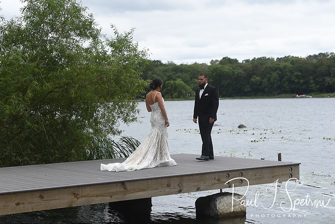 Rhode Island Wedding Photography, Bride and Groom First Look Photos