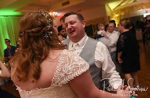 Kirkbrae Country Club Wedding Photography, Wedding Reception Photos