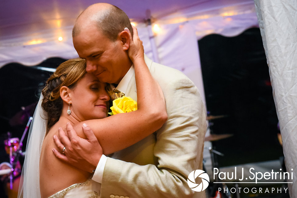 Rebecca and Kelly dance during their August 2017 wedding.