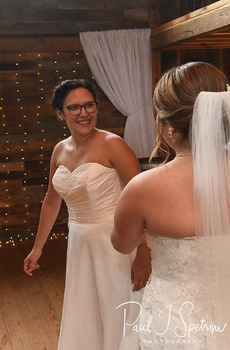 Chamberlain Farm Wedding Photography, First Look Photos