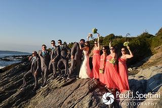 Beavertail Lighthouse Wedding Photography from Marissa & Paul's 2016 wedding.