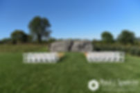 A look at the ceremony site prior to Kevin and Jen's September 2017 wedding ceremony at Allen Hill Farm in Brooklyn, Connecticut.