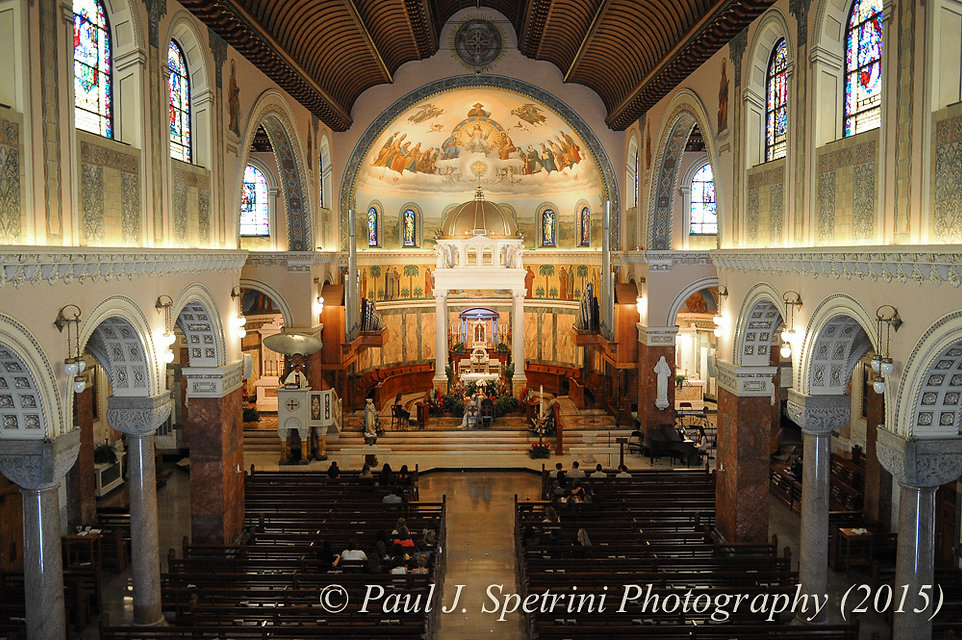 Blessed Sacrament Church Wedding Photography, Wedding Ceremony Photos