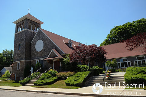 A look at St. Thomas More Church prior to Amy & DJ's June 2016 wedding.