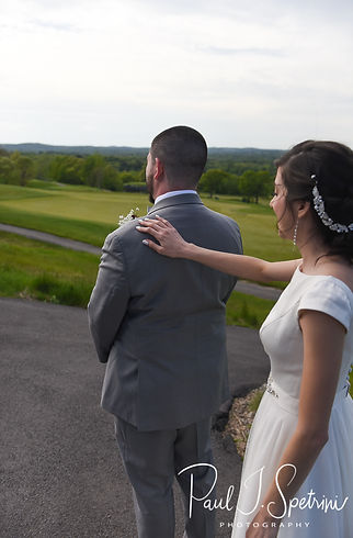 Granite Links Golf Club Wedding Photography, Bride and Groom First Look Photos