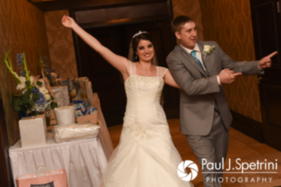 Neil and Gianna are introduced during their July 2017 wedding reception at Quidnessett Country Club in North Kingstown, Rhode Island.